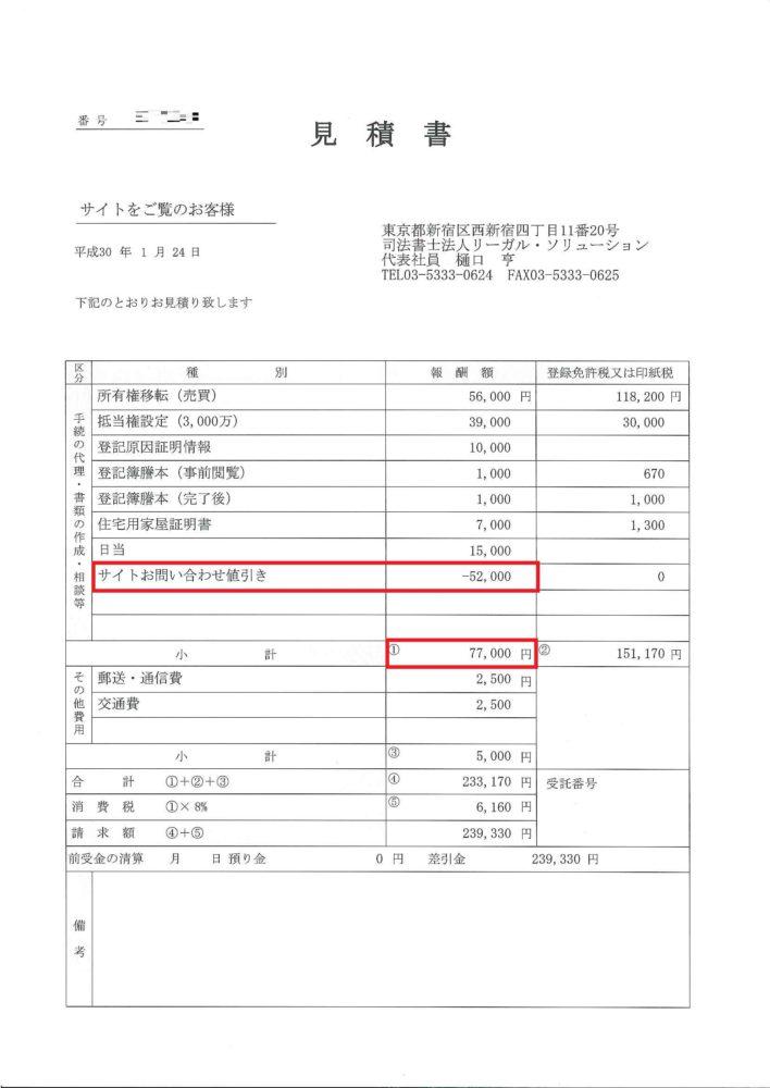 中古マンション購入の際の登記費用の計算方法