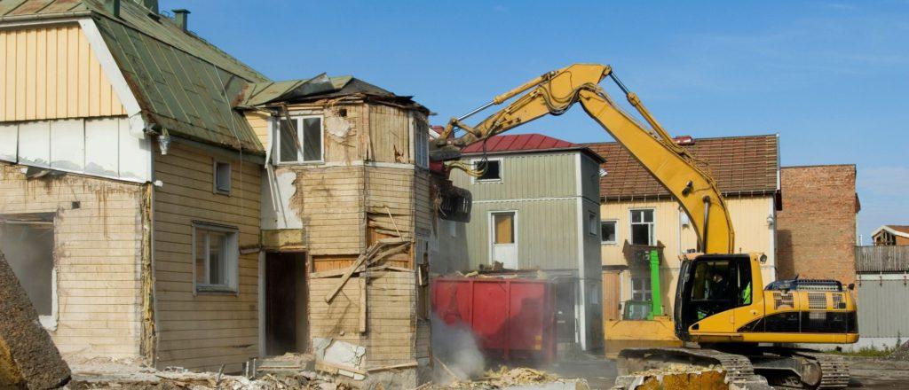 建物解体工事